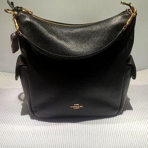 Coach Pennie leather shoulder bag